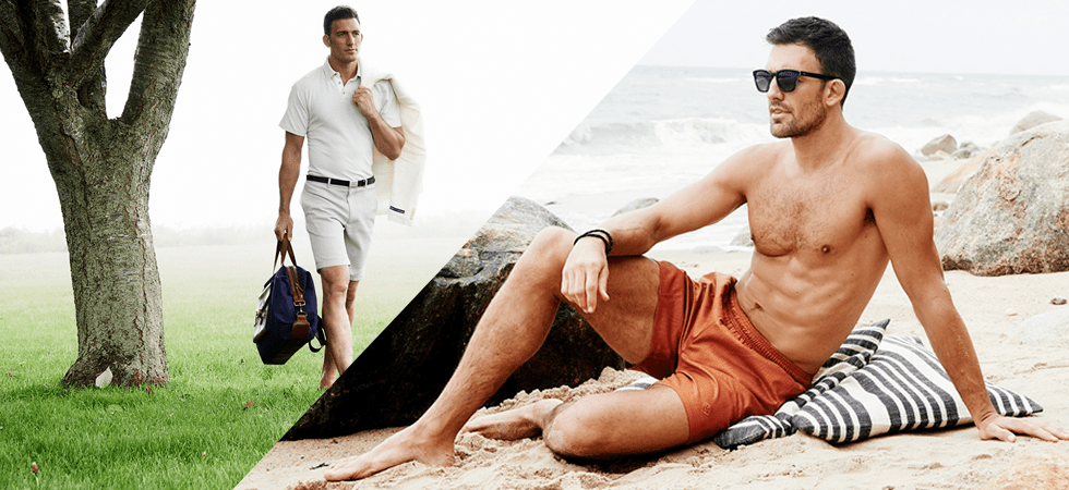 mens fashion swimwear